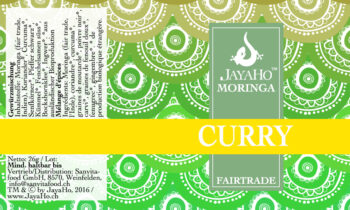 Moringa Curry Streuer Jayaho Sanvitafood Fair Trade