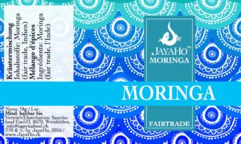 Moringa Pur Kräuterstreuer Jayaho Sanvitafood