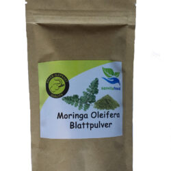 Moringa Blattpulver Green Elephant Qualität von Vitarbo