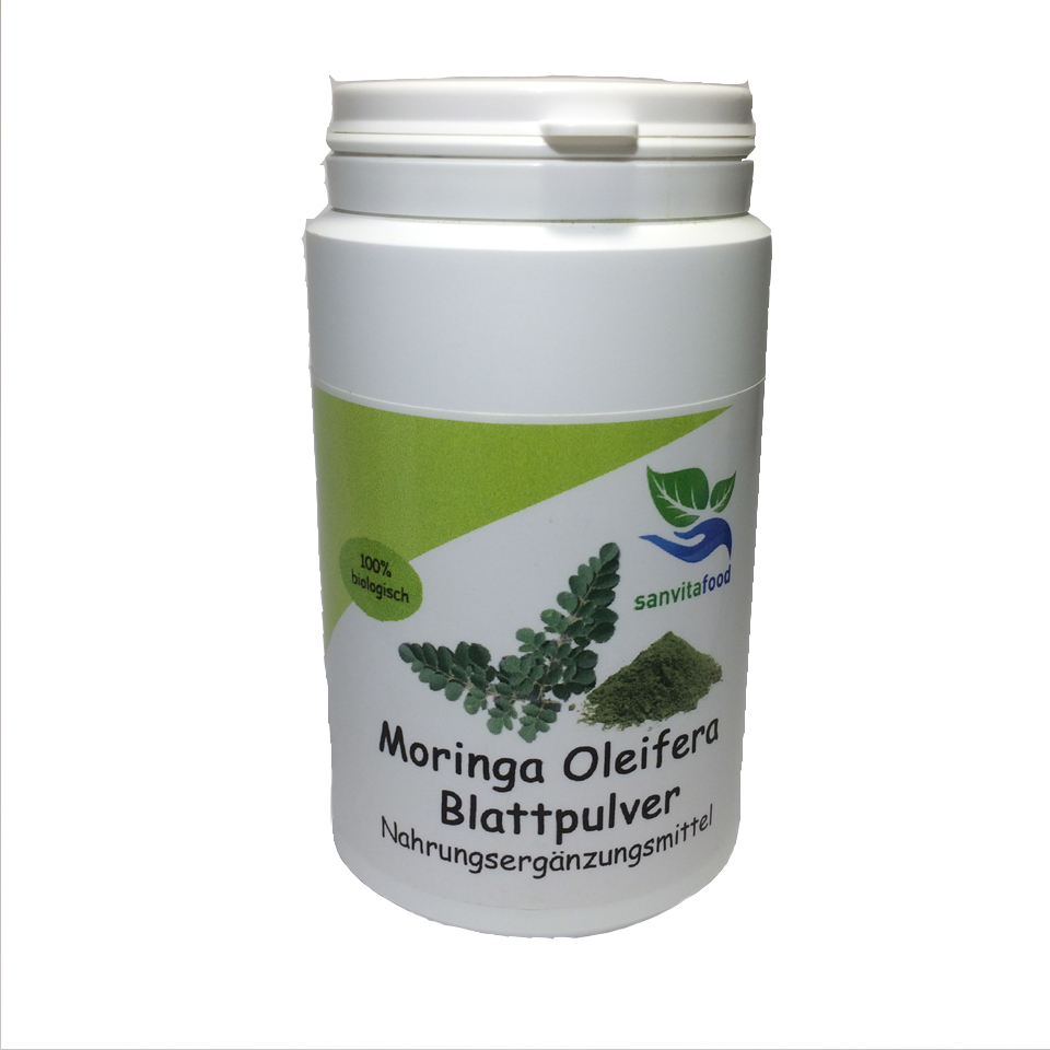 Moringa Oleifera Blattpulver Qualität